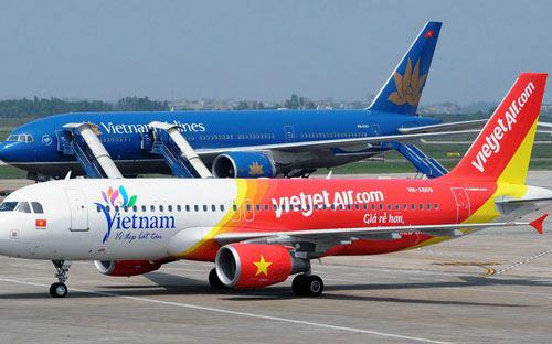 mua vé của hãng hàng không nào?