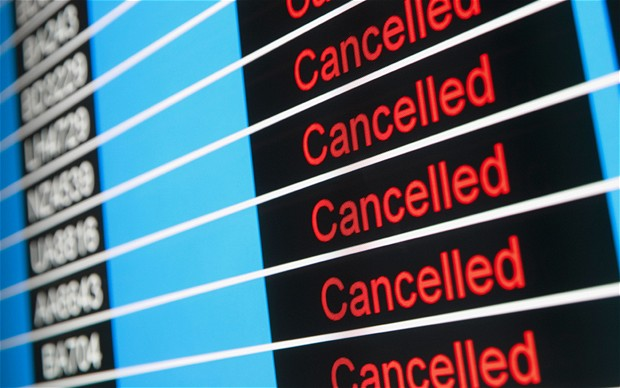 Bồi thường ứng trước khi chuyến bay bị hủy