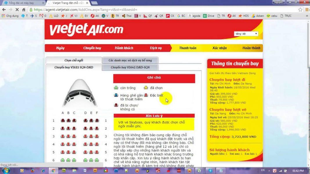 Việc bán vé máy bay online nở rộ và phát triển mạnh trong thời gian gần đây.