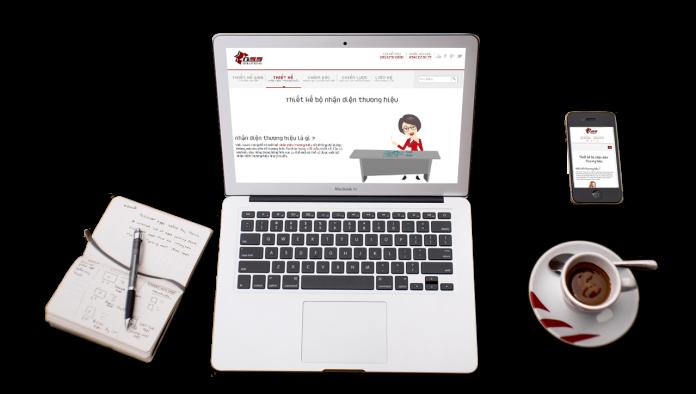 Xây dựng thương hiệu qua website