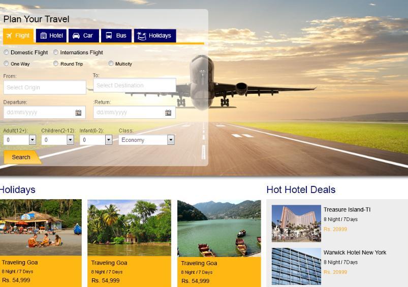 Đại lý bán vé máy bay cần cung cấp một vài thông tin để bên thiết kế website hiểu được mục đích và mong muốn của đại lý.
