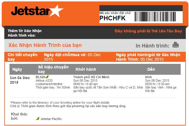 Đại lý bán vé máy bay cấp 1 hoặc hãng hàng không sẽ chỉ xuất vé khi nhận được đầy đủ tiền vé.